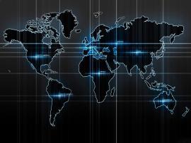 Map Tech Clipart Backgrounds