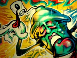 Mask Graffiti Image Backgrounds
