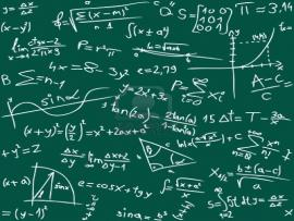 Math Equations Graphic Backgrounds