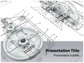 Mechanical Engineering PowerPoint Templates and Clip Art Backgrounds
