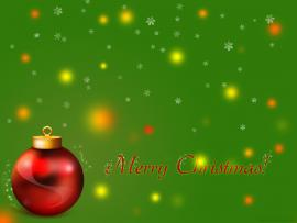 Merry Red Green Christmas Graphic Backgrounds