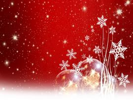 Metal Christmas Slides Backgrounds