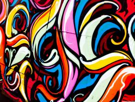 Metalic Graffiti Photo Backgrounds