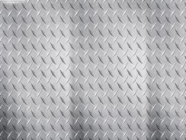 Metalic Steel Grey Slides Backgrounds