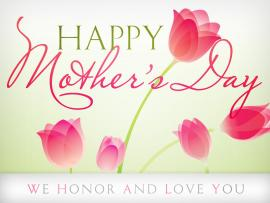 Mothers Days Template Slides Backgrounds