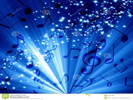 Music Note Blue Hd Pictures 4 HDs  Lzamgs  Presentation Backgrounds