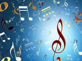 Music Notes Colorful Picture Backgrounds