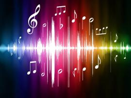Music Notes Music Notes With A Lorful Clip Art Backgrounds