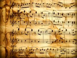 Music Notes Sheet Music With Notes Music Note Clip Art Picture Backgrounds