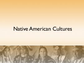 Native American Cultures Quality Backgrounds