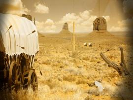Natural Landscape Western  Backgrounds