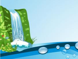 Natural Waterfall Backgrounds