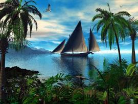 Nature Landscape Clip Art Backgrounds