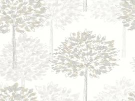 Neutral With A Hint Of Red The Berry Trees Look Almost Hand Painted image Backgrounds