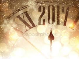 New Year With Clock Clipart Photo Backgrounds