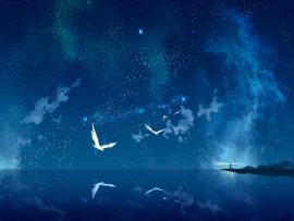 Night Sky Night Sky Win10 Themes Backgrounds
