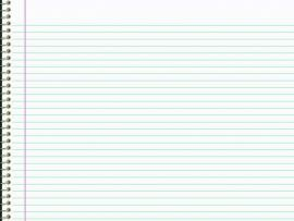 Notebook Paper For Template Backgrounds