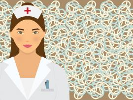 Nurse in Hospital Backgrounds