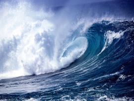 Ocean Wave Desktop Picture Backgrounds