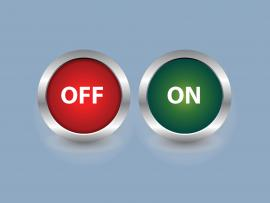 OFF ON Push Button Backgrounds