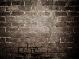 Old Grunge Brick Wall Texture Slides Backgrounds