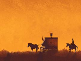Old West Clipart Backgrounds