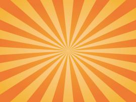 Orange Sunburst Texture Backgrounds
