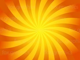 Orange Yellow Swirl Design Backgrounds