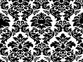 Owl pattern in black and white Backgrounds