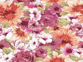 Paint Floral Slide Backgrounds