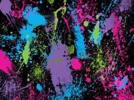 Paint Splatter Graphic Backgrounds
