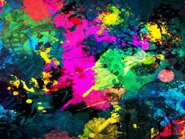 Paint Splatter Photo Graphic Backgrounds