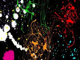 Paint Splatter Picture Graphic Backgrounds