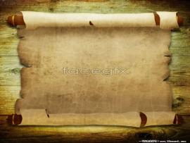 Parchment Scroll Templates Backgrounds
