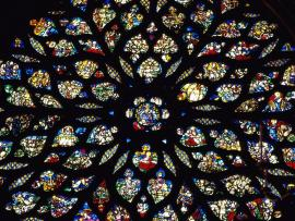 Paris France Stained Glass Rosary Download Backgrounds