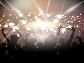 Party With Golden Lights Vector  Free Picture Backgrounds