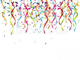 Party with Ribbons Backgrounds