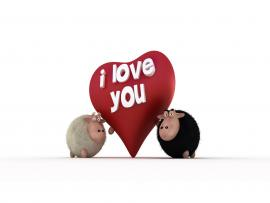 Piggy I Love You Clipart Backgrounds