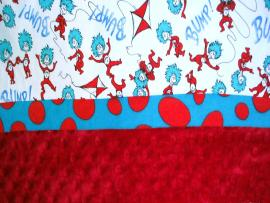 Pillowcase Dr Seuss Thing Backgrounds