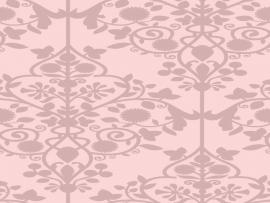 Pink Damask Black and Pink Damask Design Backgrounds