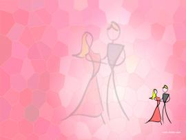 Pink Dance Lovers Backgrounds