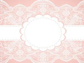 Pink Lace Vector Old Lace Frame Backgrounds