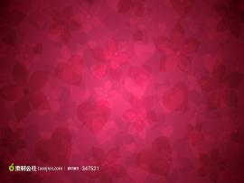Pink Love Hearts Pattern Wallpaper Backgrounds