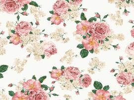 Pink Vintage Floral Download Backgrounds