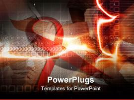 Powerpoint Template  Hiv Best Hiv Aids   Clipart Backgrounds