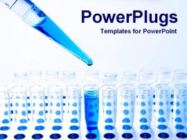 PowerPoint Template Of Testing Lab Science   Photo Backgrounds