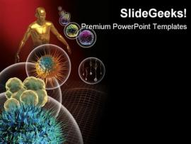 Powerpoint Templates Virus Aids Templates  Picture Backgrounds