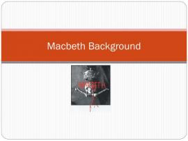 PPT  Macbeth PowerPoint Presentation  ID1941618 Backgrounds