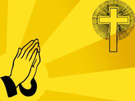 Pray of Christian Backgrounds