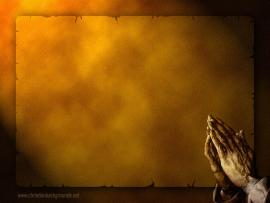 Prayer PowerPoint Templates Frame Backgrounds